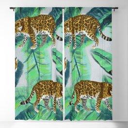 Jaguar Vibrant Jungle Print  Blackout Curtain
