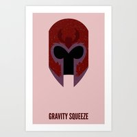 magneto Art Prints featuring Magneto by d00d it's jake