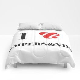 I heart Ampersands Comforters