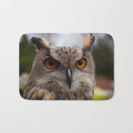 European Eagle Owl Bath Mat