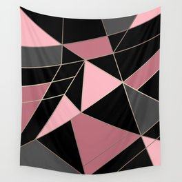Abstraction . Geometric pattern 3 Wall Tapestry