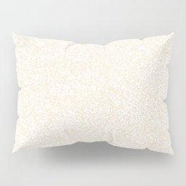 Spacey Melange - White and Champagne Orange Pillow Sham