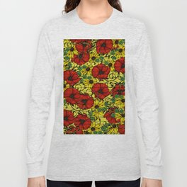 Poppy forget me not Long Sleeve T-shirt