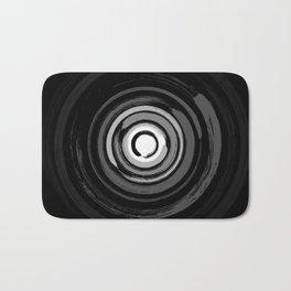 Enso Circles - Zen Circles #2 Bath Mat