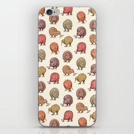Hungry Kiwis – Warm Earth Tones iPhone Skin