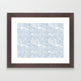 Japanese Wave Framed Art Print