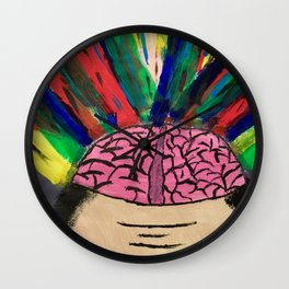 Mind Blowing Wall Clock