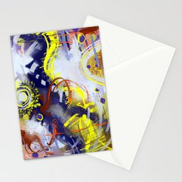 Dancing in the Jungle Stationery Cards