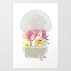 Runtime Terror  Art Print