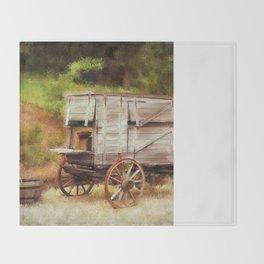 Chuck Wagon Throw Blanket