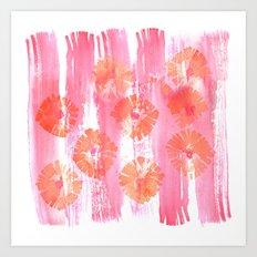 California Poppy Pop Art Print