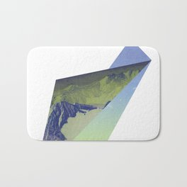 Triangle Mountains Bath Mat