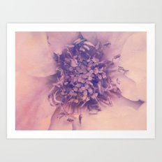 Romantica in Pastel Art Print