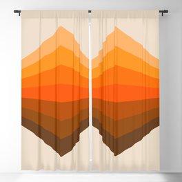 Golden Corner Blackout Curtain