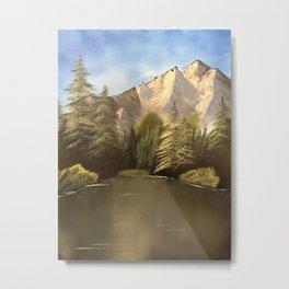 Happy Trees Metal Print