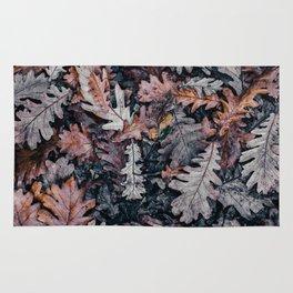 Leaves 3 by Annie Spratt Rug