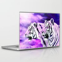 hunting Laptop & iPad Skins featuring hunting by arnedayan