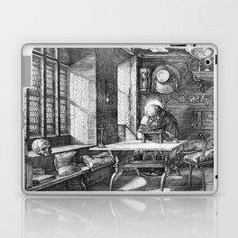 Saint Jerome in His Study by Albrecht Dürer Laptop & iPad Skin