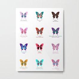 Butterflies 12 Metal Print