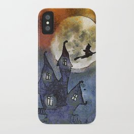 Halloween Horror Scene iPhone Case
