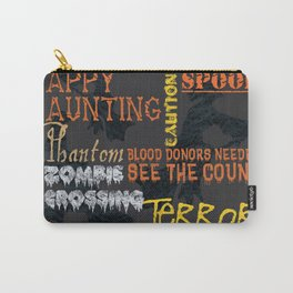 Halloween Chalkboard 1 Carry-All Pouch