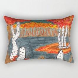 Autumn Landscape Rectangular Pillow