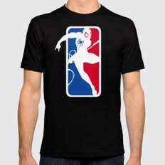 SM Mens Fitted Tee SMALL Black