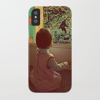 bigfoot iPhone & iPod Cases featuring Hello Bigfoot! by Silvio Ledbetter