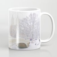 central park Mugs featuring Central Park by Vivienne Gucwa