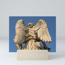 Angel Wings, Ponte Sant'Angelo, Rome, Italy Mini Art Print