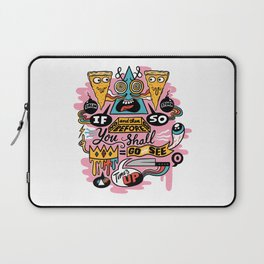 Pizza Mystery Laptop Sleeve