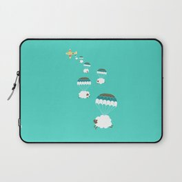 Sheepy clouds Laptop Sleeve