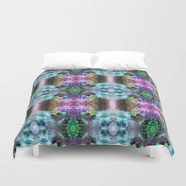 Neurotransmitted Daydreams (Pattern 2) Duvet Cover