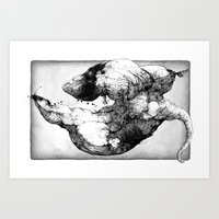 Monoculo Art Print