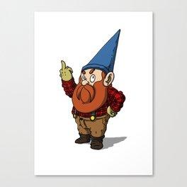 Garden Gnome Canvas Print
