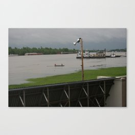 April 2011 Flooding in Ky Canvas Print