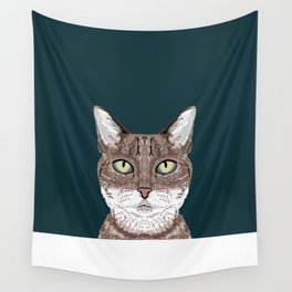 Sidney - Tabby Cat gifts for cat lovers cat ladies and cat person gifts perfect cat cell phone case Wall Tapestry