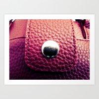 Red Bag Art Print