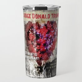 Judge Donald Trump Travel Mug