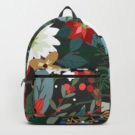 Retro Flowers Backpack