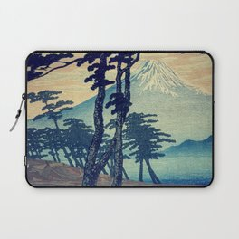 Late swimming after the floods in Hainsay Laptop Sleeve