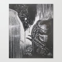 scary Canvas Prints featuring Scary by BH1215