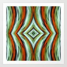 Phoenix abstract Art Print