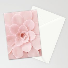 Blush Succulent Stationery Cards