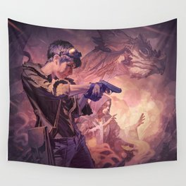 Dragons of Dorcastle Wall Tapestry