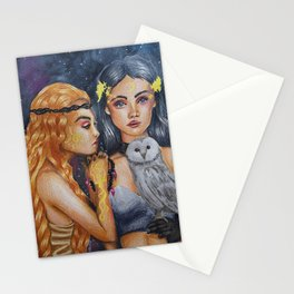 Moon & Sun Stationery Cards