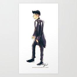 Zayn at the Brits Art Print