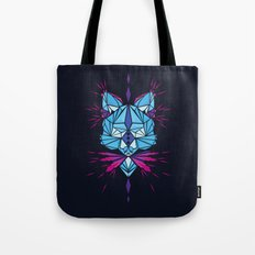 Triangle wolf Tote Bag