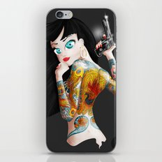 Chica Yakuza iPhone & iPod Skin