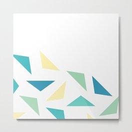 triangle corner Metal Print
